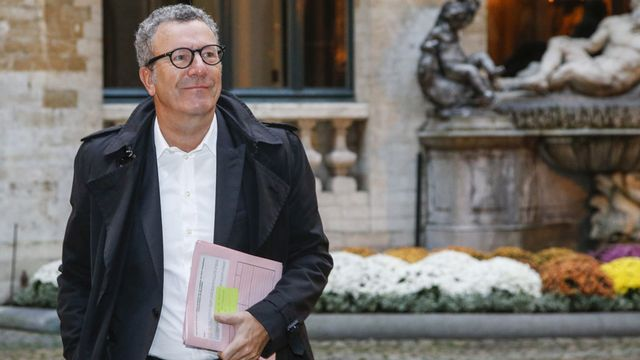 Yvan Mayeur, bourgmestre de Bruxelles. [Thierry Roge - Belga Photo - AFP]