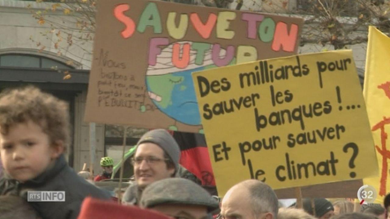 GE: plus de 3000 personnes ont battu le pavé pour manifester pour le climat [RTS]