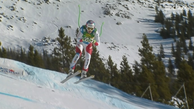 Super G, messieurs: Sandro Villeta (SUI) [RTS]