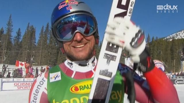 Super G, messieurs: Aksel Lund Svindal (NOR) [RTS]