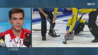 Curling- Championnats d'Europe: l'équipe de Suisse masculine glâne une belle médaille d'argent à Esbjerg (Danemark) [RTS]