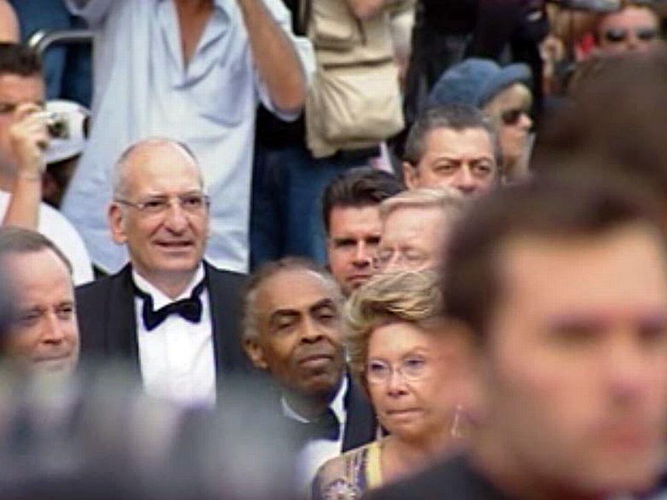Pascal Couchepin a fait le déplacement de Cannes.