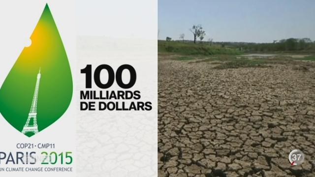 COP21: le but de la conférence est de limiter à 2 degrés le réchauffement moyen du climat sur l'ensemble de la Terre [RTS]