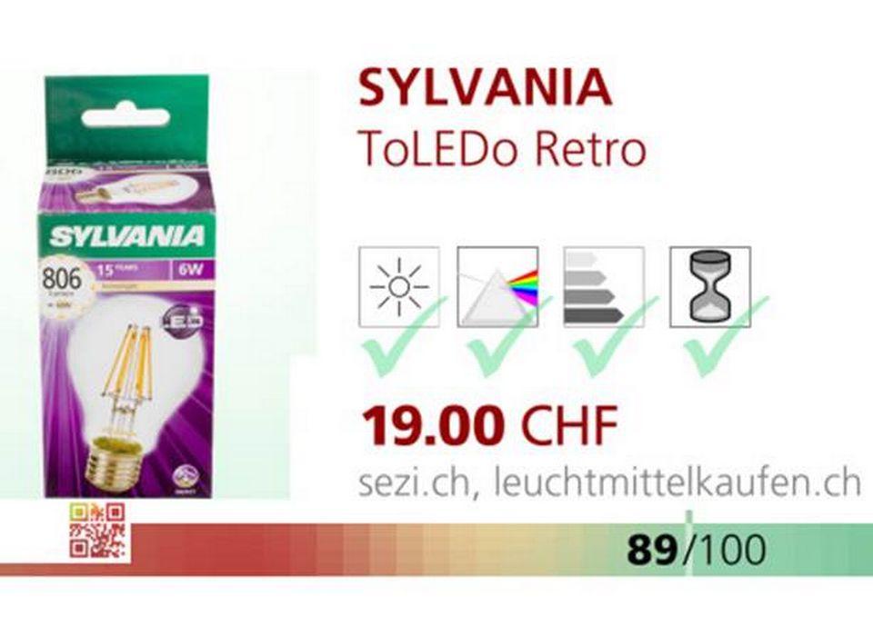 ToLEDo Retro de Sylvania.