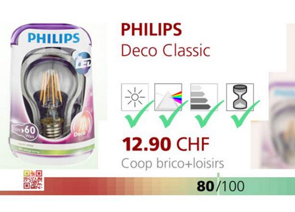 Philips Deco Classic.