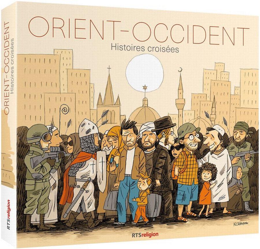 """Visuel du coffret CD """"Orient-Occident, histoires croisées"""""""