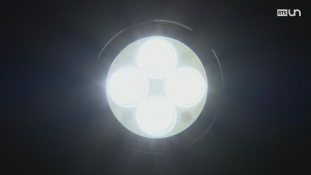 Le secteur public passe au LED [RTS]