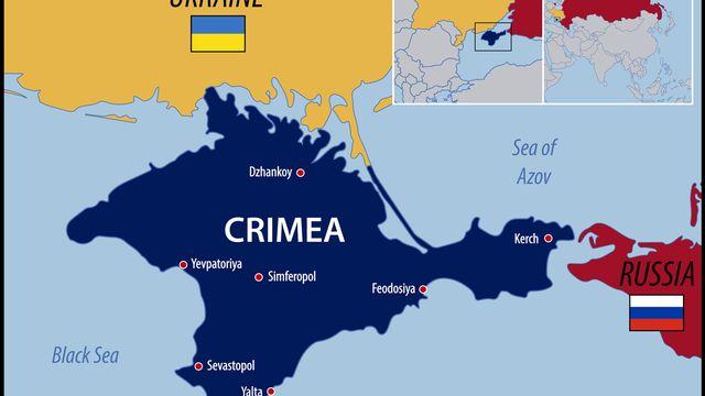 Carte de la Crimée [pablofdezr - Fotolia]