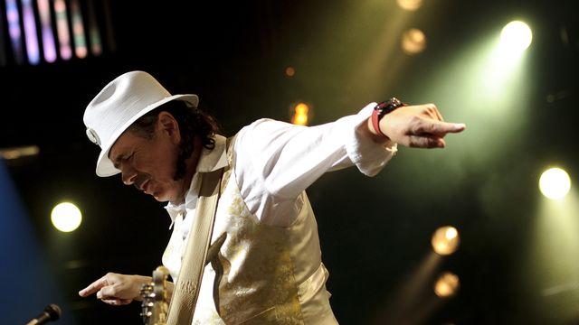 Carlos Santana [Fabrice Coffini - AFP]