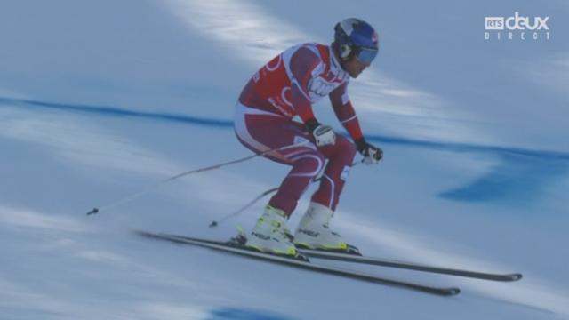 Descente messieurs: début de saison fantastique pour Aksel Lund Svindal (NOR) qui remporte cette descente [RTS]