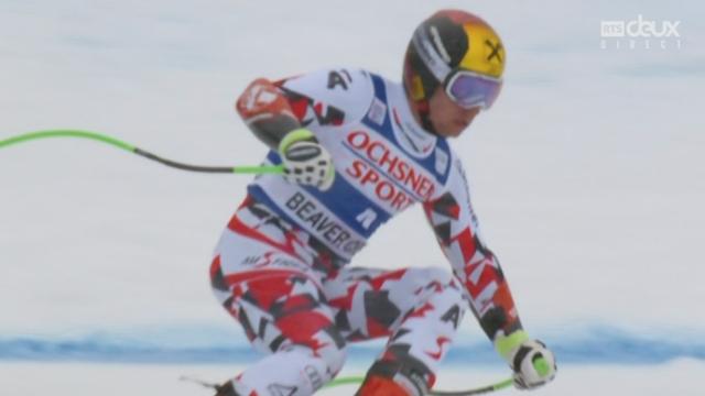 Super G messieurs : Marcel Hirscher (AUT) remporte le le Super G sous la neige de Beaver Creek [RTS]