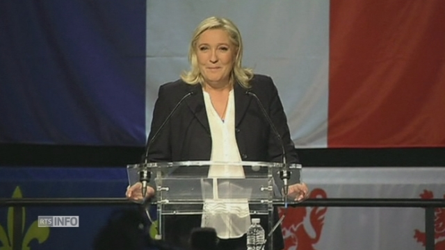 "Marine Le Pen: ""Le mouvement national est désormais le premier parti de France"""