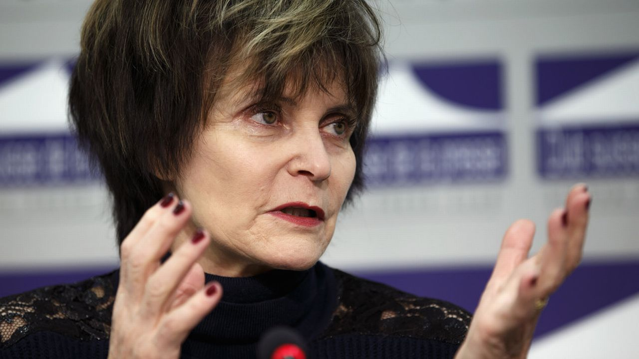 L'ancienne conseillère fédérale socialiste Micheline Calmy-Rey. [Salvatore Di Nolfi - Keystone]