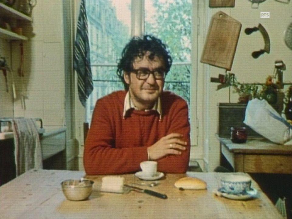 Petit déjeuner avec le comédien Jacques Denis. [RTS]