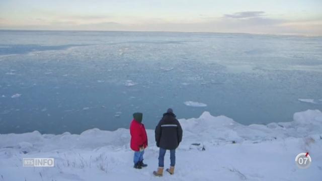Des indigènes d'Alaska sont menacés par le réchauffement climatique [RTS]