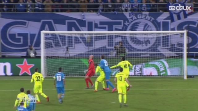 Gr. H, KAA Gent - Zenit St-Pétersbourg (2-1): grâce notamment à un but de Milicevic, Gent se qualifie pour les 8es [RTS]