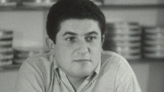 Le cinéaste Claude Lelouch en 1965. [RTS]