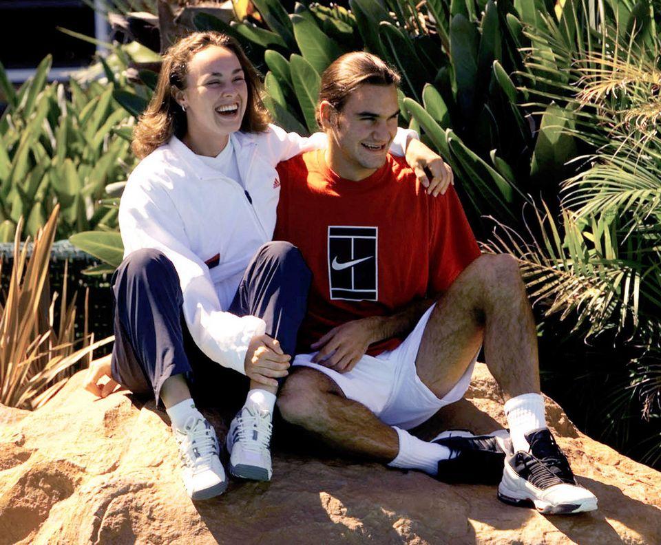 Martina Hingis et Roger Federer devraient jouer côte à côte aux Jeux de Rio. [Trevor Collens]