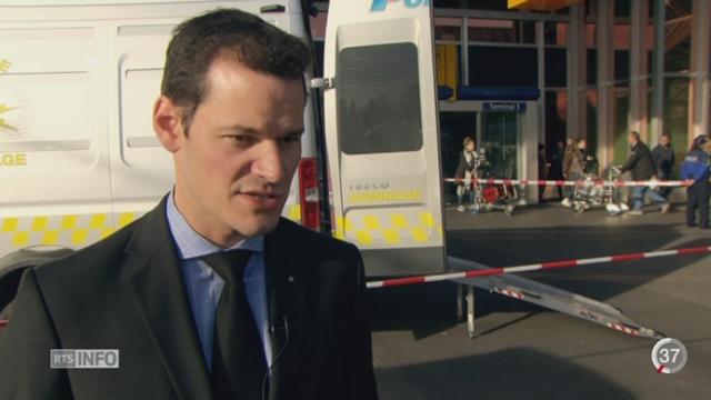 Genève en alerte: Pierre Maudet a fait le tour des lieux sensibles [RTS]