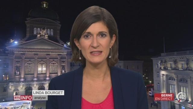 Répartition des départements fédéraux: l'analyse de Linda Bourget à Berne [RTS]