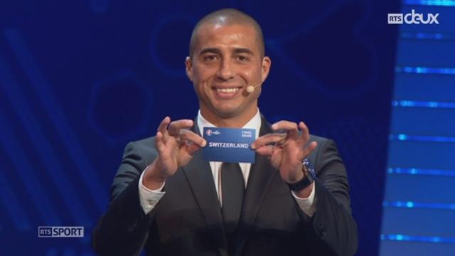 Football: la Suisse sera dans le groupe A à l'Euro 2016 [RTS]