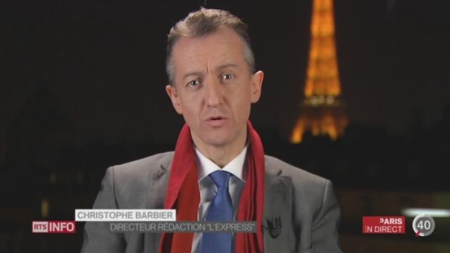 Élections régionales en France - Sondage pour les présidentielles: les précisions de Christophe Barbier à Paris [RTS]