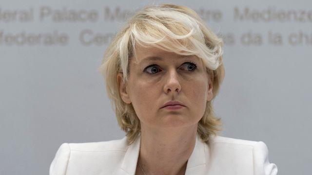 La Vaudoise Isabelle Moret, conseillère nationale PLR. [Lukas Lehmann - Keystone]