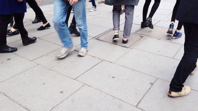 Marche, mobilité piétonne. [Calado - Fotolia]