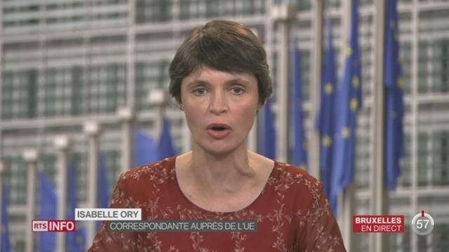 Crise des migrants: 8 États se sont réunis à l'ambassade d'Autriche en marge du sommet européen [RTS]