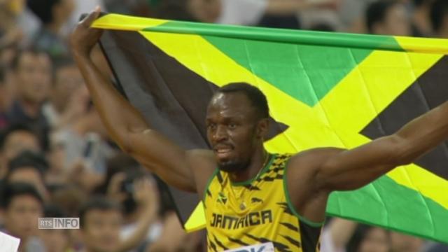 Rétrospective 2015 - OK Août: Usain Bolt, champion du monde du 100 mètres [RTS]