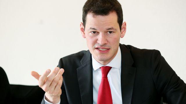 Pierre Maudet, conseiller d'Etat, Genève [Magali Girardin - Keystone]