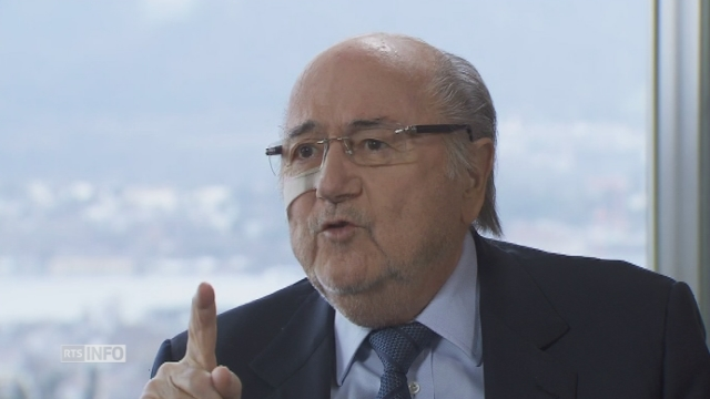 Sepp Blatter Je ne suis pas un homme fini [RTS]