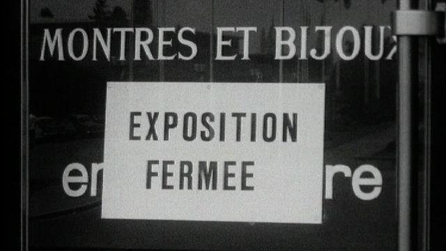 Vol de montres et de bijoux à Beaulieu en 1964. [RTS]