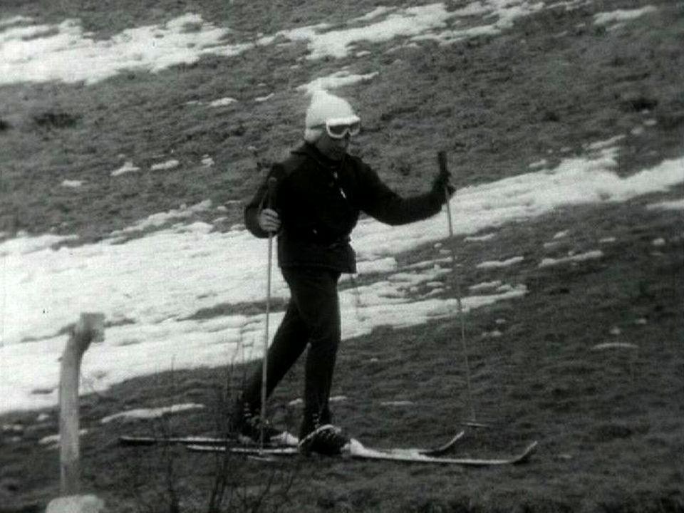 1964: un hiver sans neige !