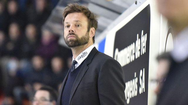 L'entraîneur de Gottéron Gerd Zenhausern. [Christian Brun - Keystone]