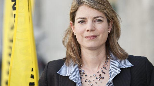 Manon Schick, directrice de la section suisse d'Amnesty International [Alessandro della Valle - Keystone]