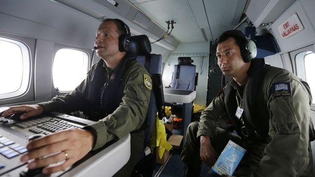 Agents de Frontex, l'agence chargée de surveiller les frontières extérieures de l'Europe. [THANASSIS STAVRAKIS - Keystone]