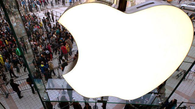 Apple occupe la première place du classement avec près de 596 milliards de dollars de capitalisation. [Andy Wong - AP Photo]