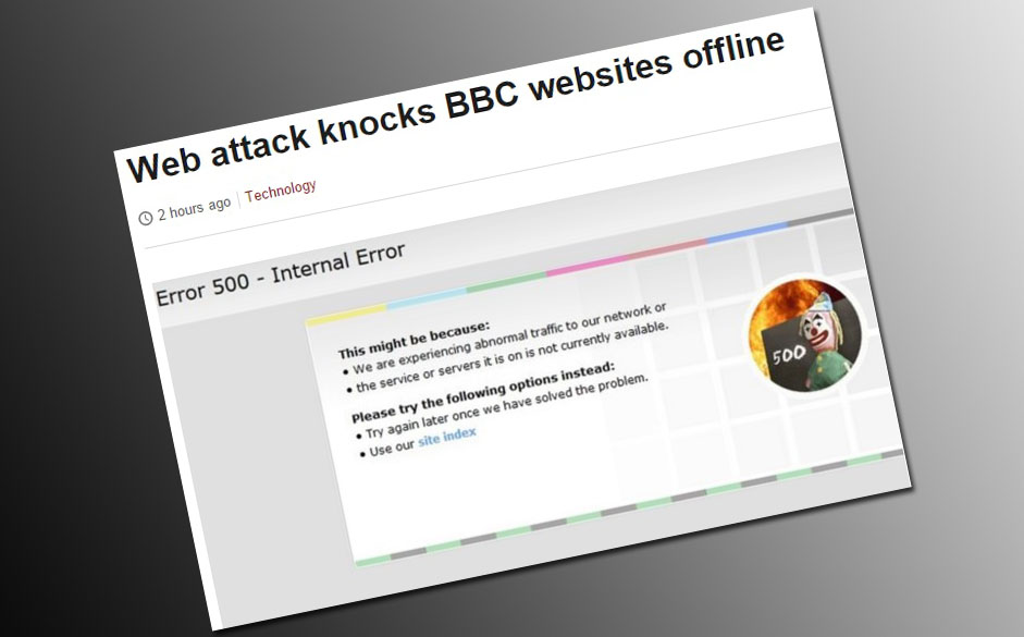 Capture du site de la BBC.