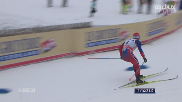 30km messieurs - Martin Sundby(NOR) remporte l'épreuve en tête d'un quadruplé norvégiens [RTS]