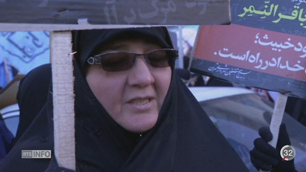 Iran: des manifestants ont mis le feu à l'ambassade saoudienne de Téhéran [RTS]