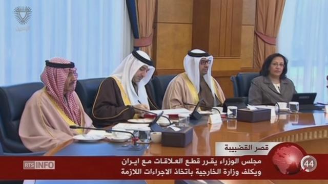 L'Arabie saoudite coupe ses liens diplomatiques avec l'Iran [RTS]