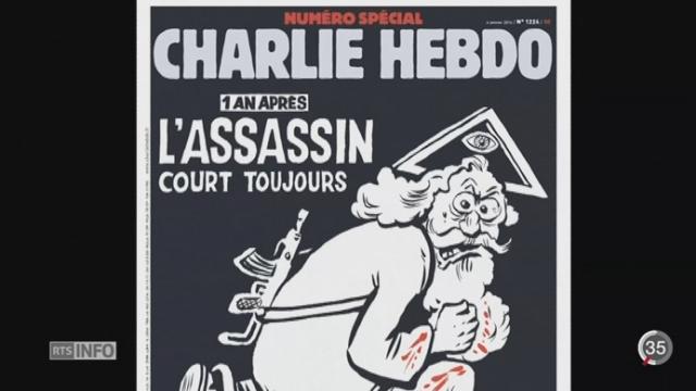 Charlie Hebdo: des commémorations débutent un an après l'attentat [RTS]