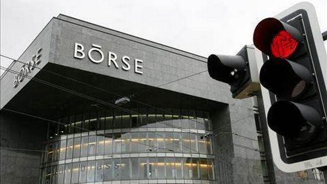 La bourse suisse à Zurich. [Keystone]