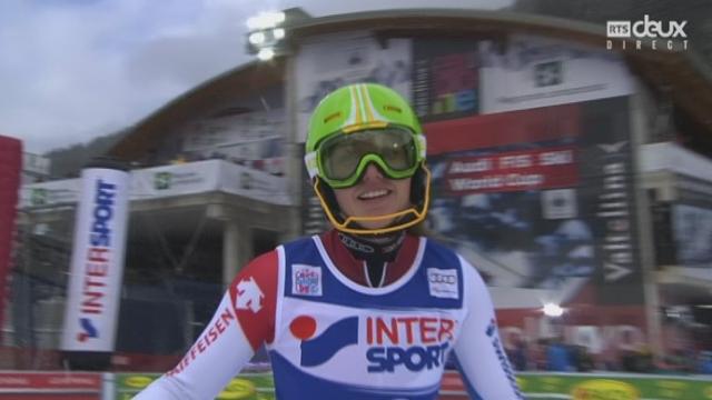 Slalom dames : Chiara GMUER (SUI) [RTS]