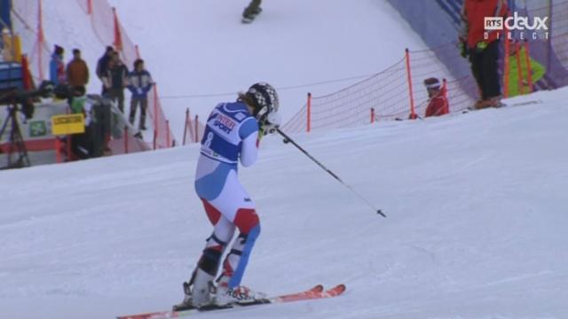 Slalom dames, 2e manche : Michelle GISIN (SUI) [RTS]