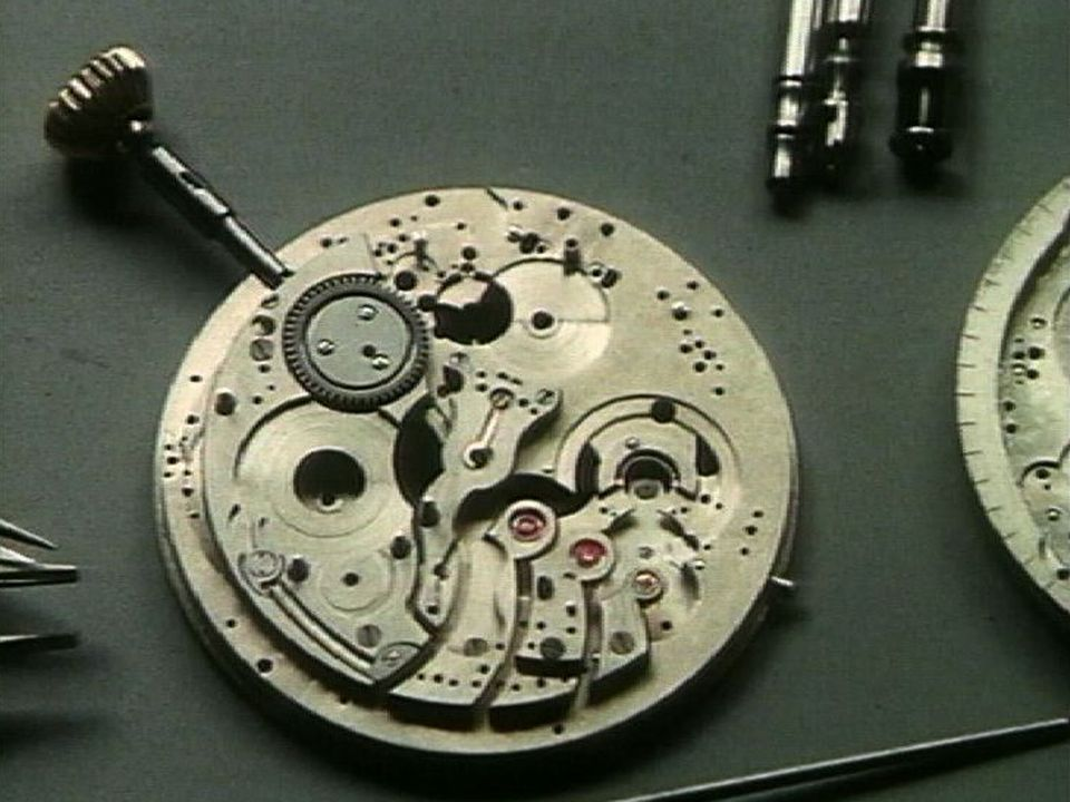 Mécanisme de montre. [RTS]