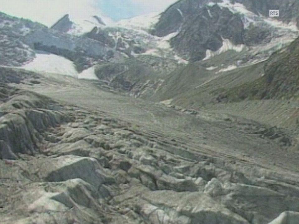 Crues glacières. [RTS]