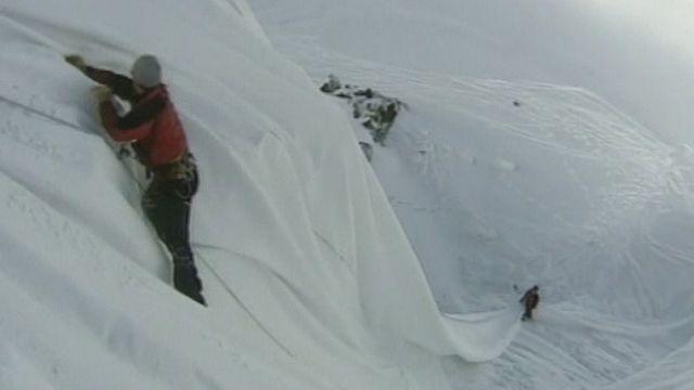 Glacier empaqueté. [RTS]