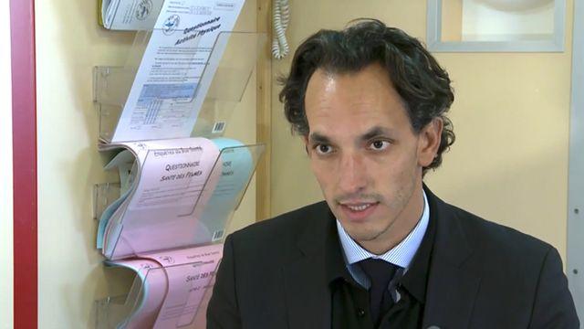 Idris Guessous, médecin adjoint responsable de L'Unité d'épidémiologie populationnelle aux Hôpitaux universitaires de Genève. [HUG / DR]